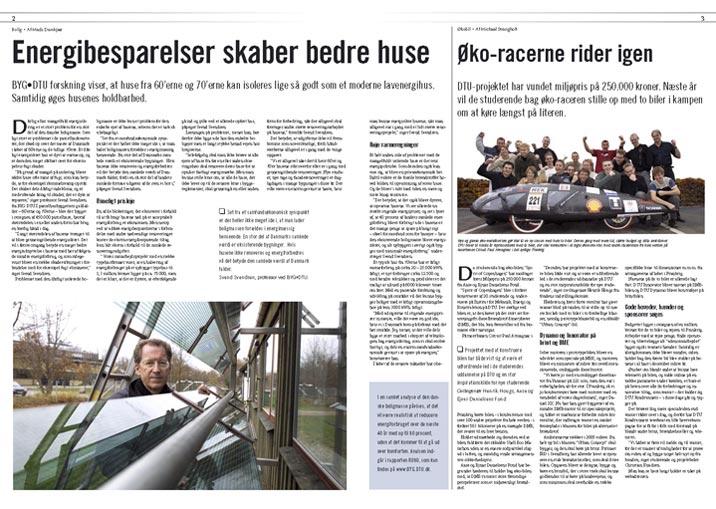 Forslag til sats og tilrettelægning af blad     Sat med med Joanna MT og Optima  Sats: Henrik Maribo Pedersen