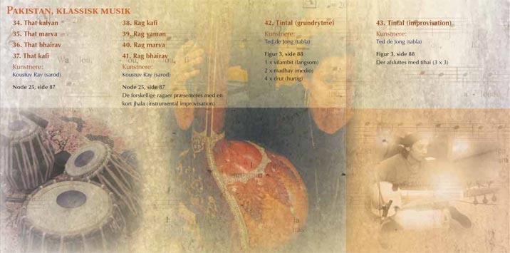 Booklet til CD: Musik Omkring Os  Forfatter: Eva Fock  Sat med med Joanna MT og Optima  CD booklet design og layout:   Henrik Maribo Pedersen  Wilhelm Hansen Musikforlag